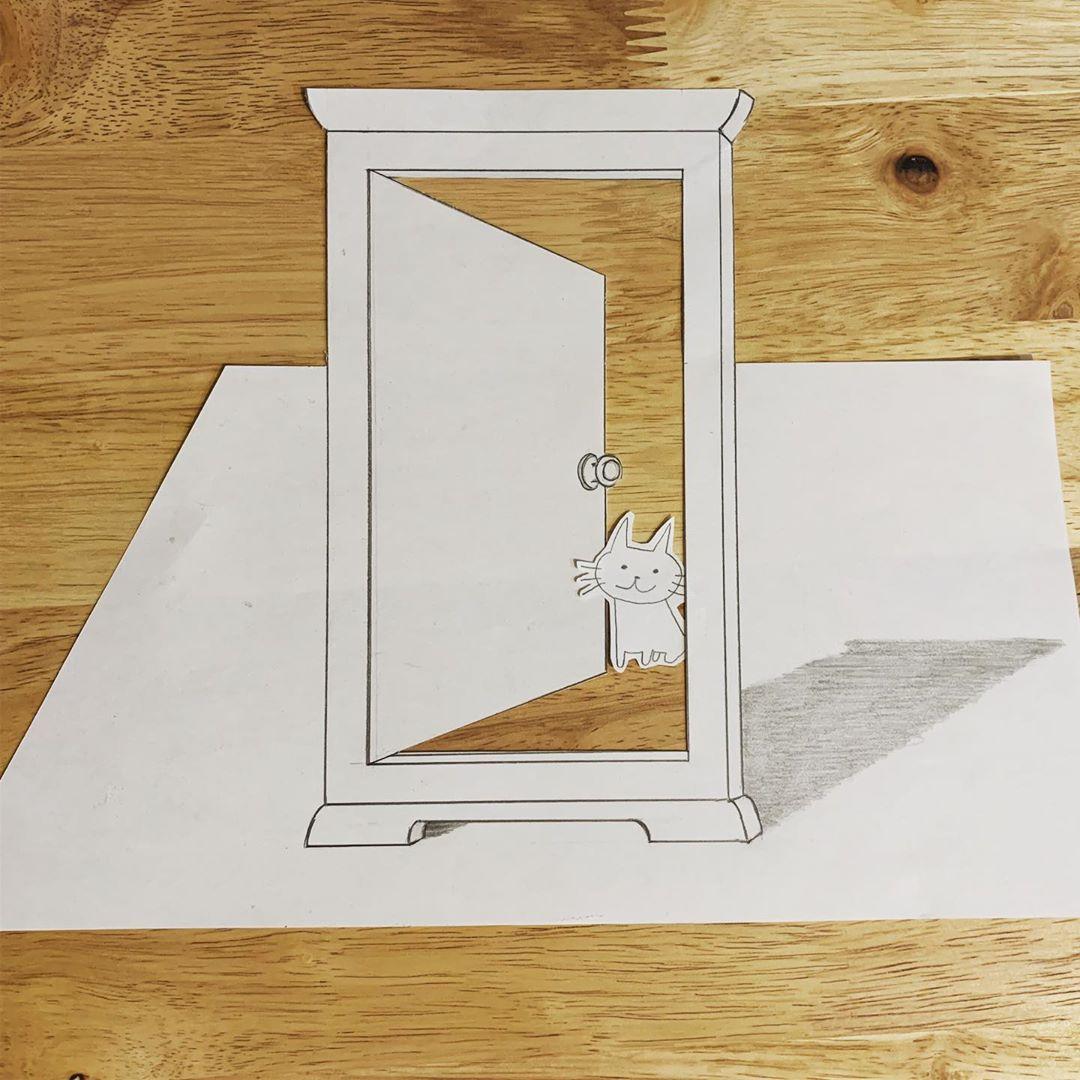どこでもドアがあったらいいな How To Draw Likeforlike