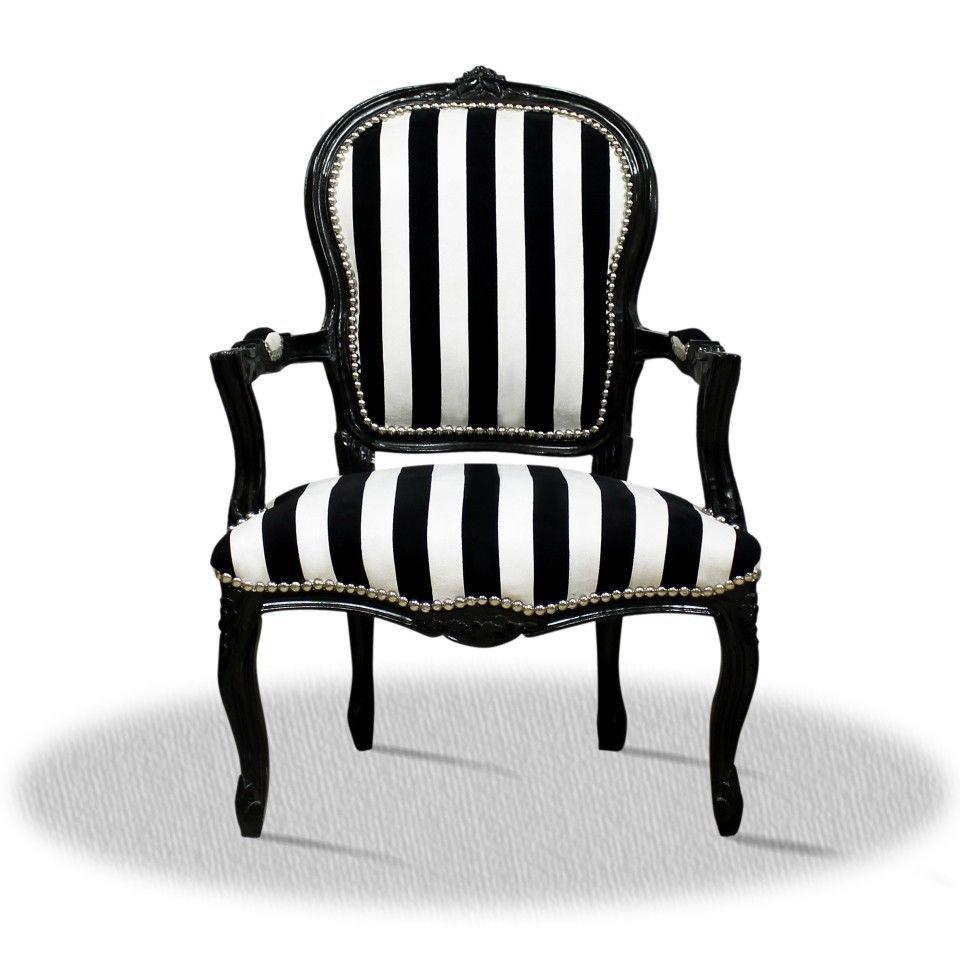 Innenarchitektur Stühle Modern Das Beste Von Barock Stuhl Schwarz Weiss Zebra Gestreift Polsterstuhl