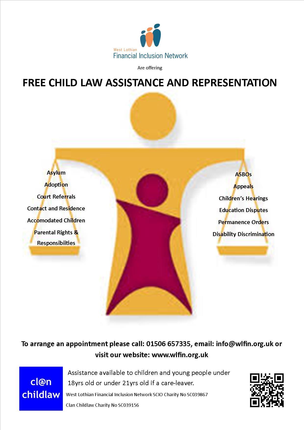 Free Child Law Assistance Amp Representation West Lothian