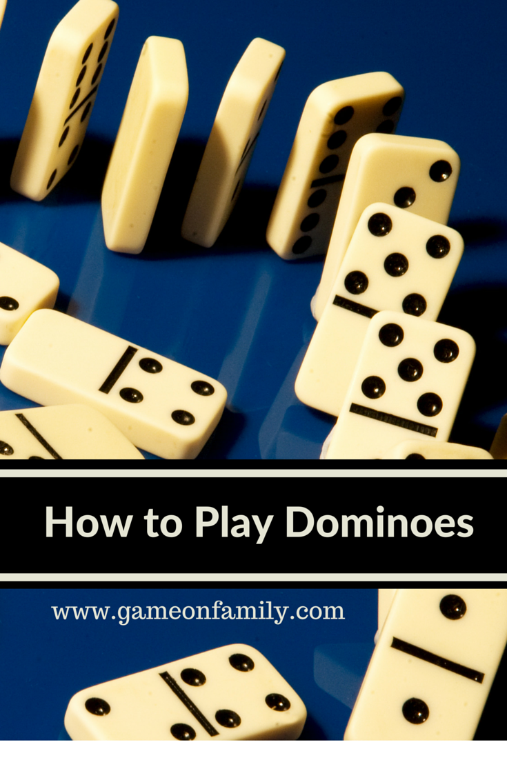 How To Play Dominoes Games Pinterest Gaming Plays And Learning
