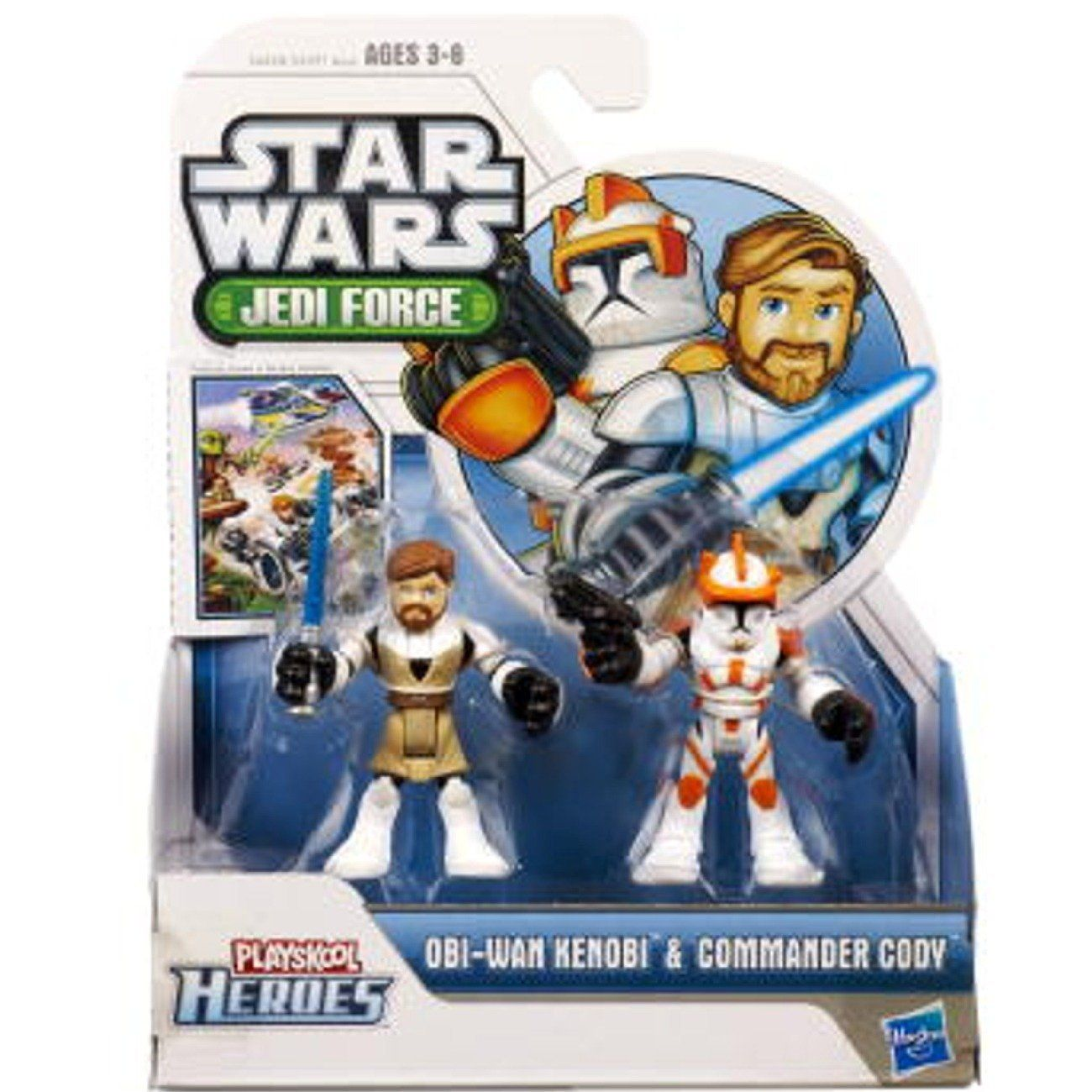 Star Wars Toy Game : Amazon star wars jedi force playskool heroes obi wan