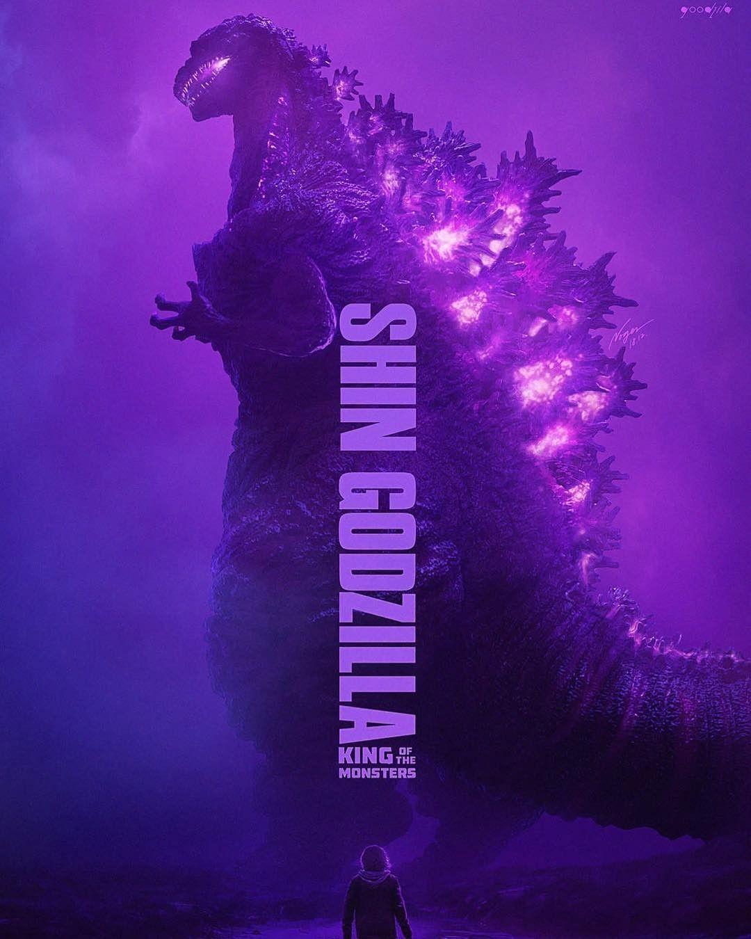 Godzilla 2 Imax Poster Textless: 005 Godzilla 2014 Monster Fighting Hot Movie 24x36 Poster