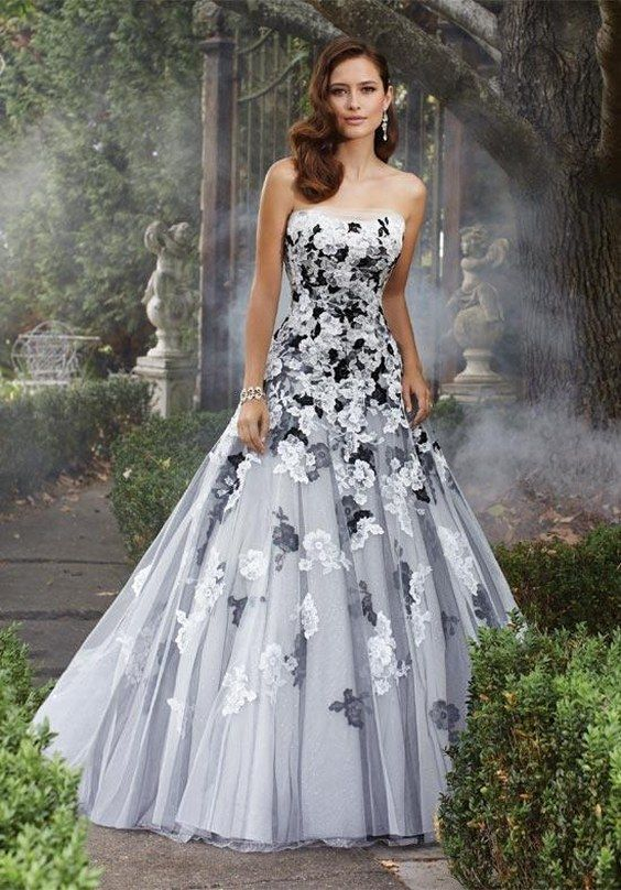 Fresh  Beautiful Black Wedding Dresses You Will Love