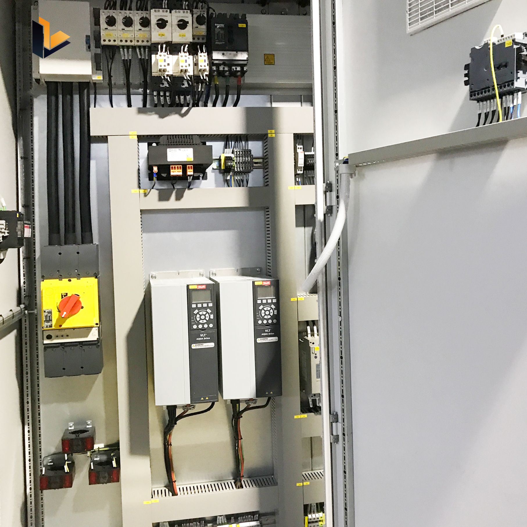 Mcc Control Cabinet Control Electric Motor Mcc
