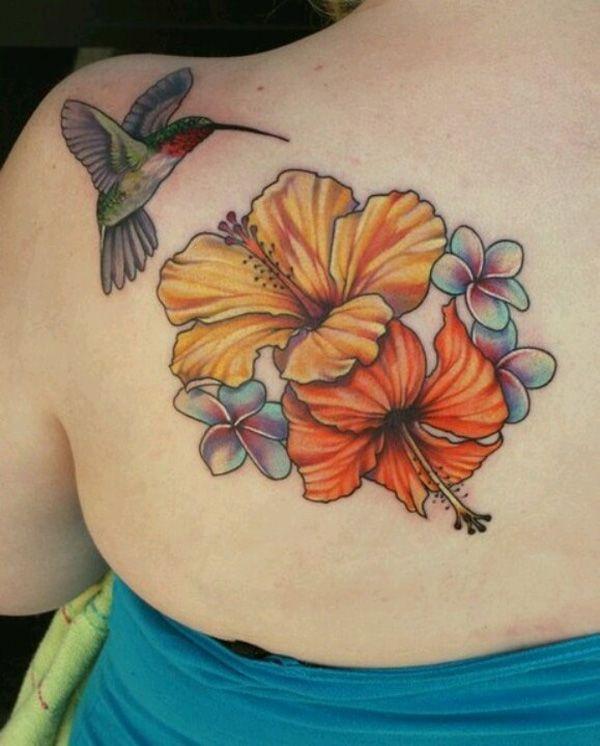 40 Magnificent Hibiscus Flower Tattoos Cuded Hibiscus Flower Tattoos Hibiscus Tattoo Hummingbird Tattoo
