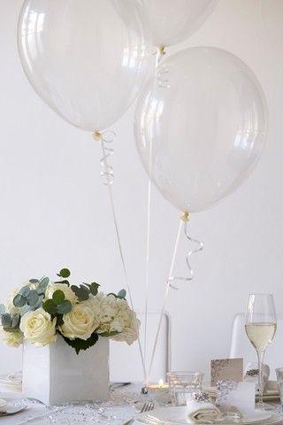 Wedding Reception Decoration Ideas - Elegant Tablecentres From Brides Magazine (BridesMagazine.co.uk)