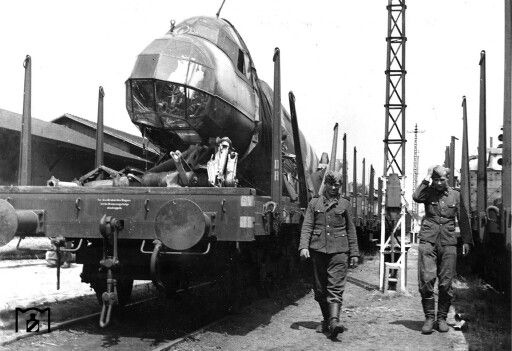 Inspirational The Deutsche Reichsbahn transported new as well as damaged aircraft Including the recycling of Allied