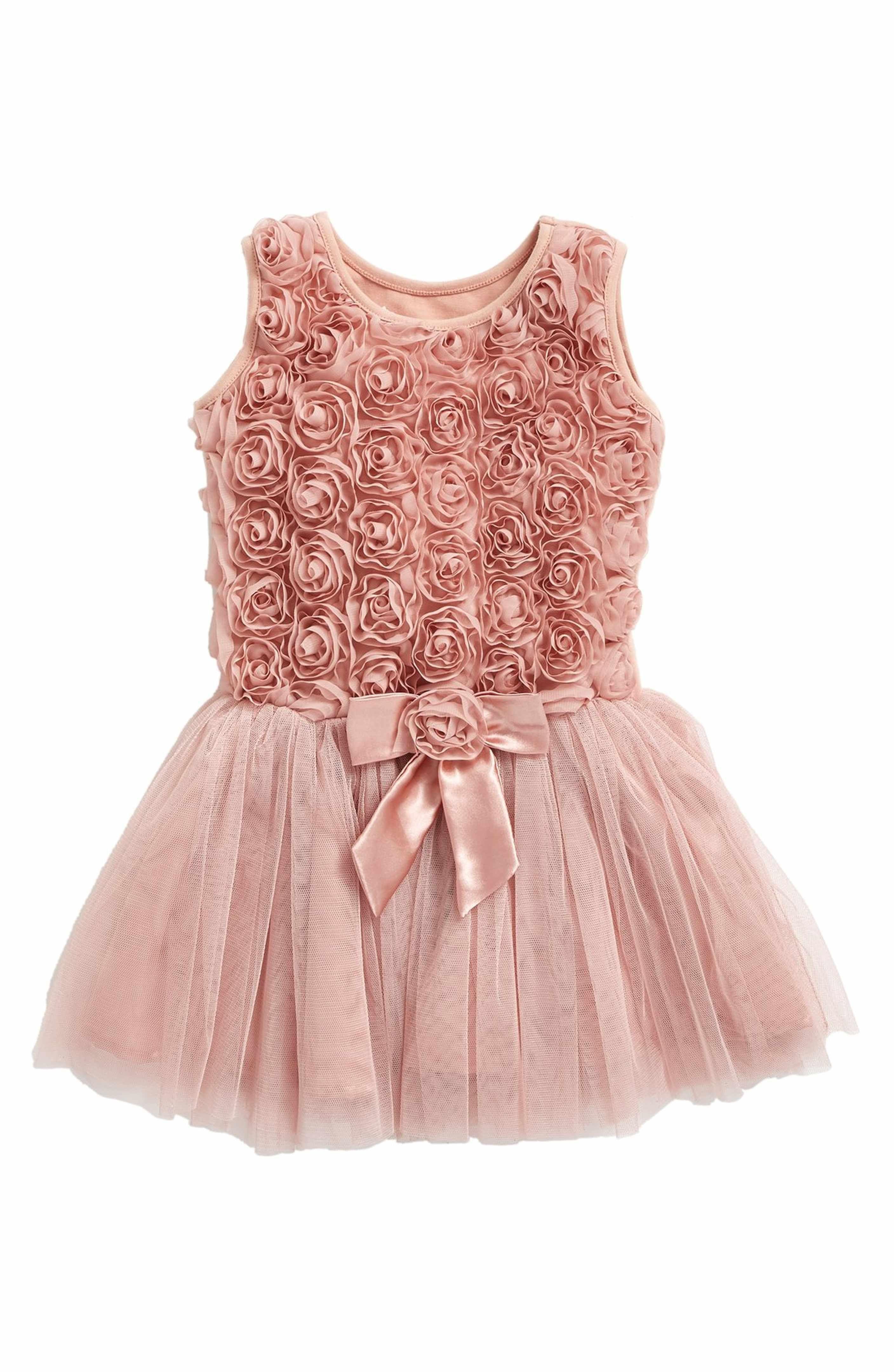 Ribbon Rosette Tutu Dress