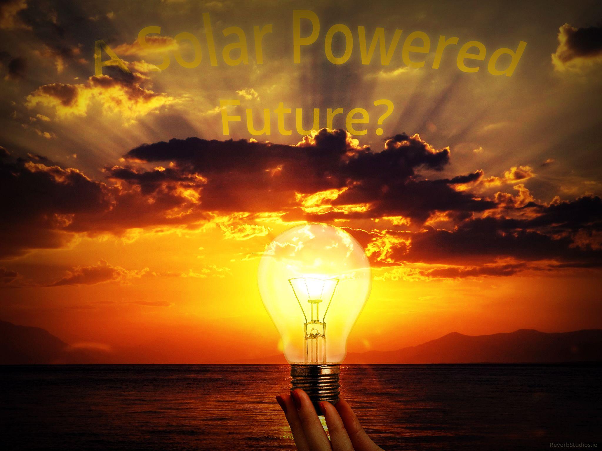 Solar Light Bulb #Photoshop