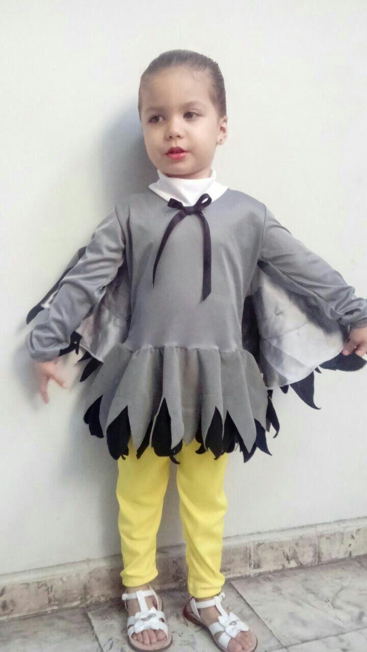 34117eeef Disfraz aguila niña Disfraz