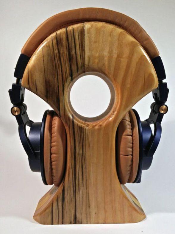 From Diy To Hifi Best Headphone Stands In 2020 Sluchawki Design Drewno