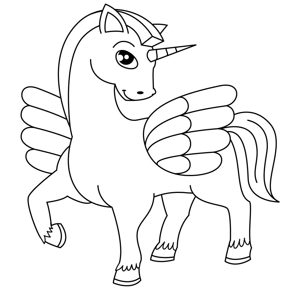 Free printable horse coloring pages for kids :) | Horse ...