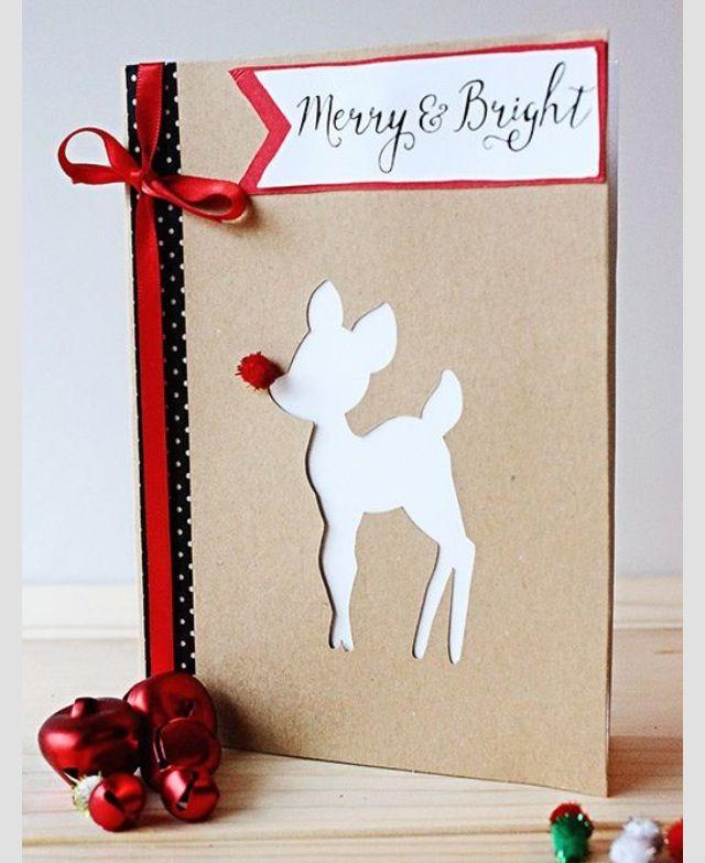 Лет, своими руками открытки на рождество