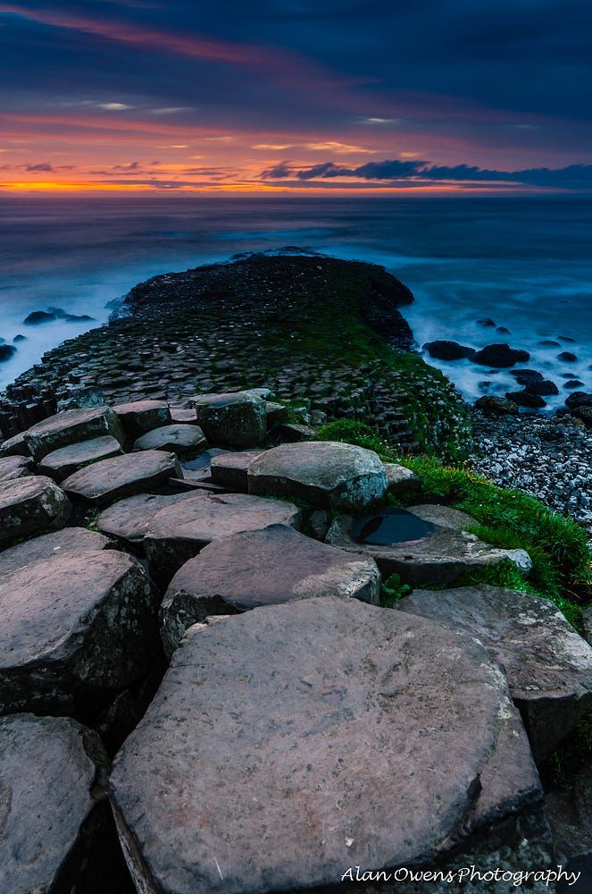 The Giant S Footpath By Alan Owens On 500px Ireland Vacation