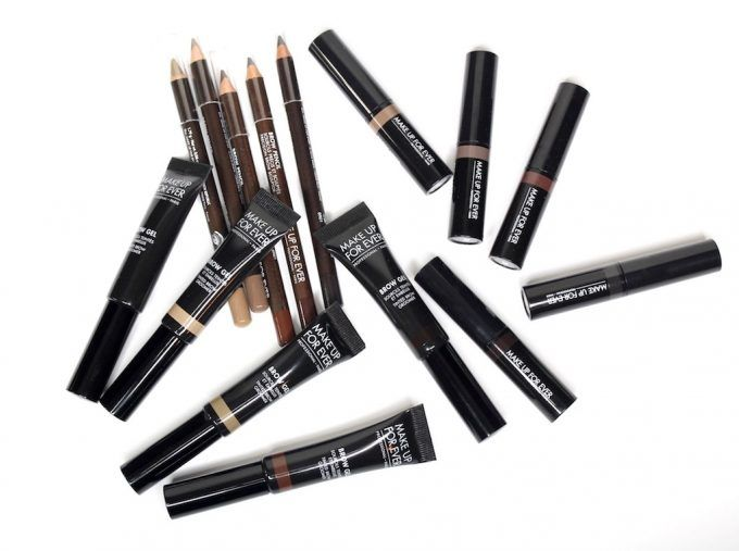 Make Up For Ever Brow Tools for Spring 2017
