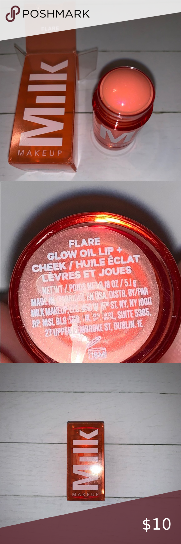 Milk make up Glow oil lip + cheek. in 2020 Milk makeup