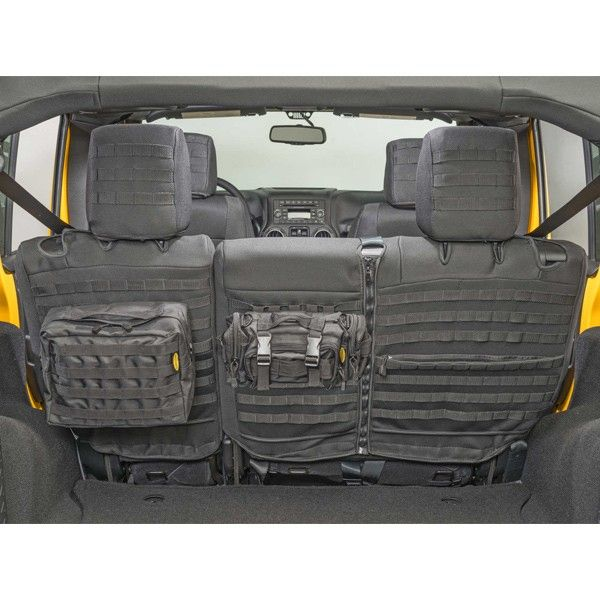 Jeep Jk 2 Door Rear Seat Cover Smittybilt 56656901 Jeep Wrangler Jeep Wrangler Accessories Jeep Seats