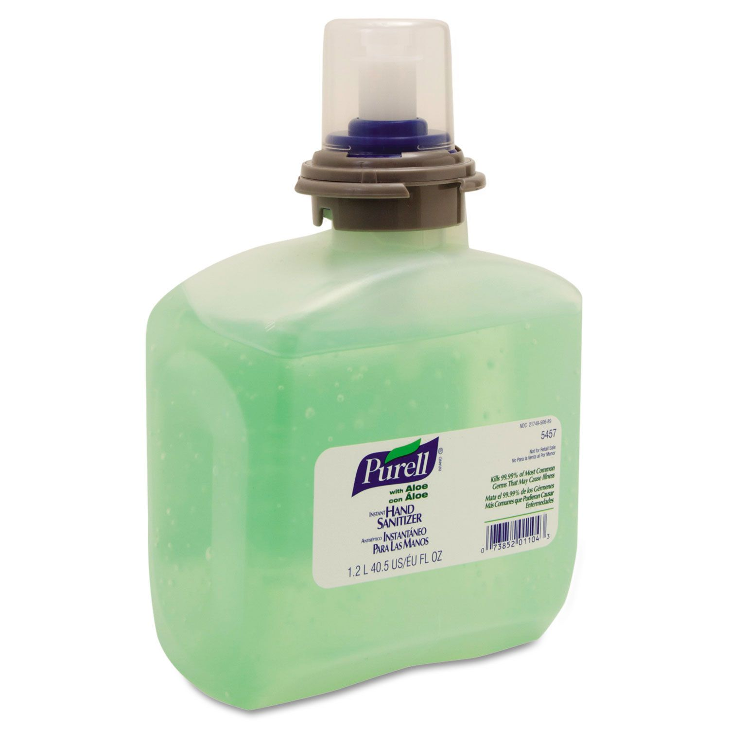 Purell Advanced Tfx Gel Instant Hand Sanitizer Refill W Aloe