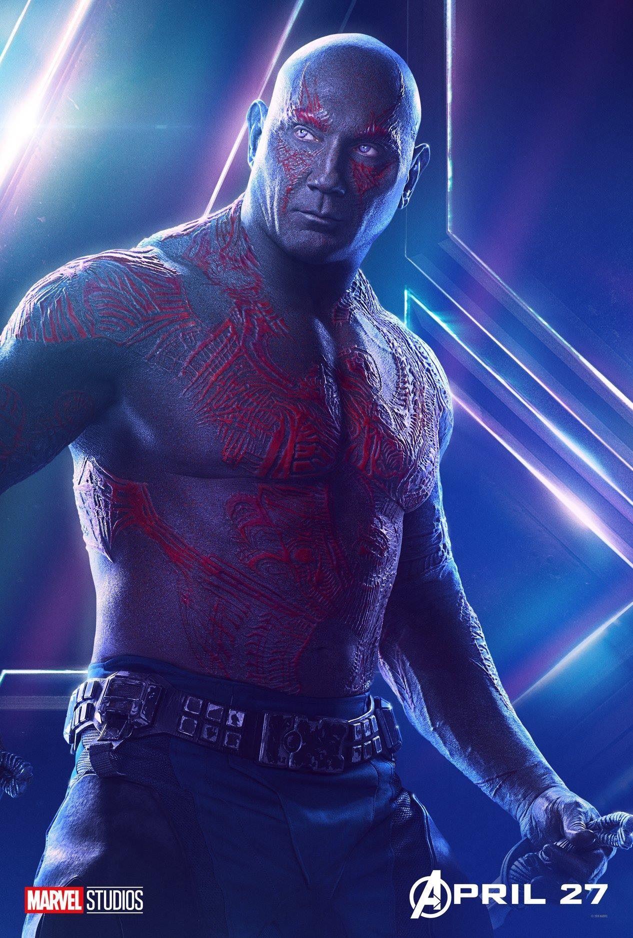 Avengers: Infinity War - Drax | Avengers, Magníficos, Marvel