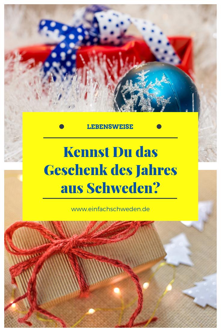 Weihnachtsgeschenke In Schweden.Weihnachtsgeschenk Des Jahres årets Julklapp Einfachschweden