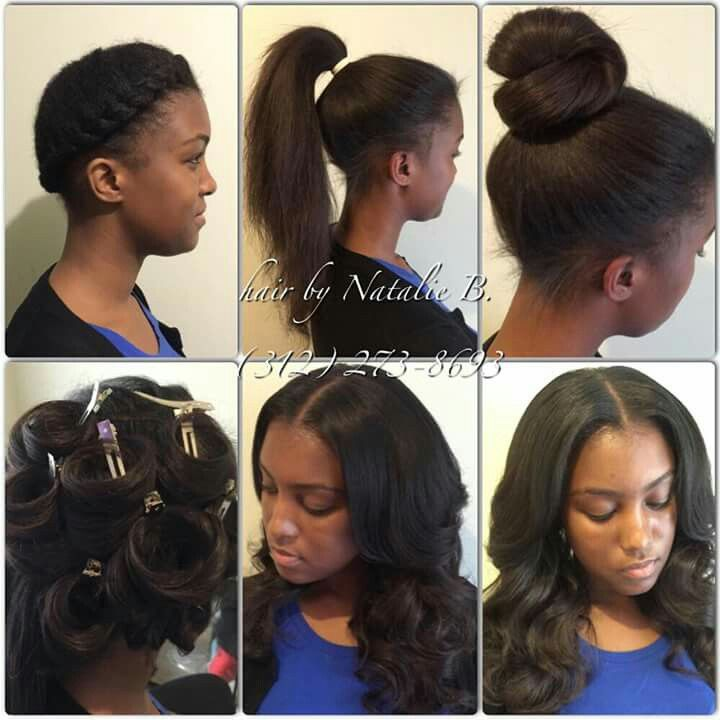 Work Performed By Natalie Birdsong Of Chicago Il Hairstyle