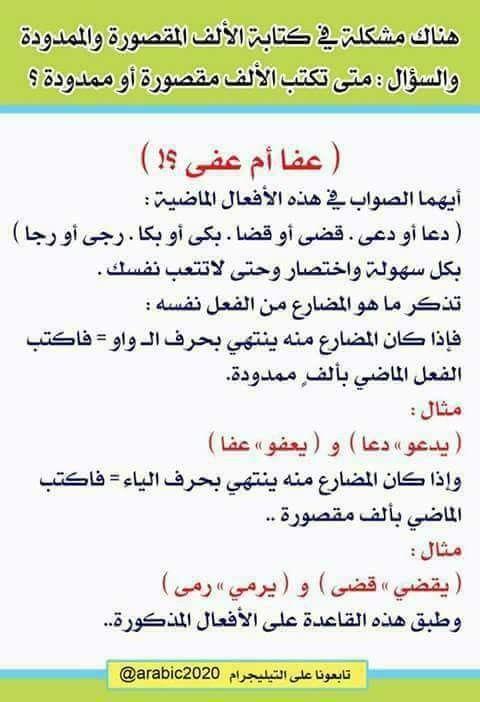 اللغة العربية Learn Arabic Language Learning Arabic Arabic Language