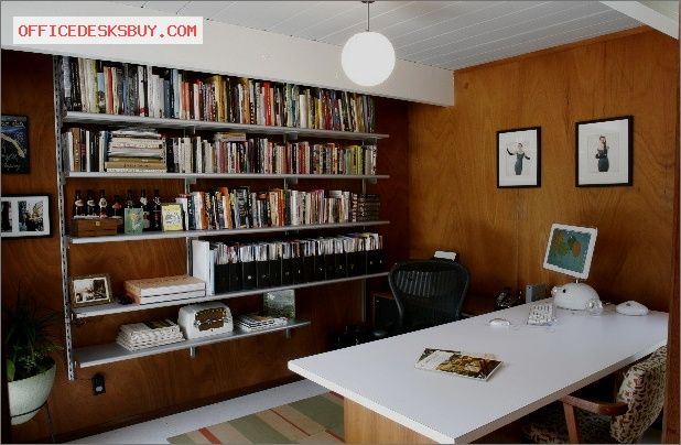 Superb San Jose Eichler Modern Home Office