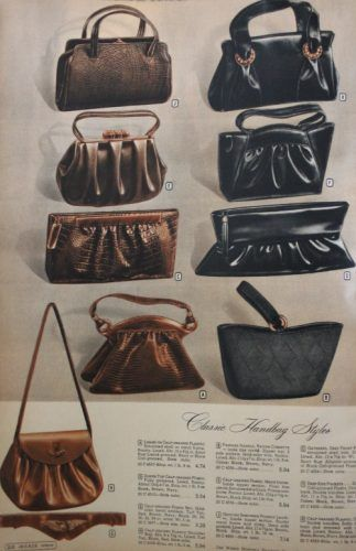 1940s Fashion  What Did Women Wear in the 1940s    Handbag s Beauty ... a964a505e3