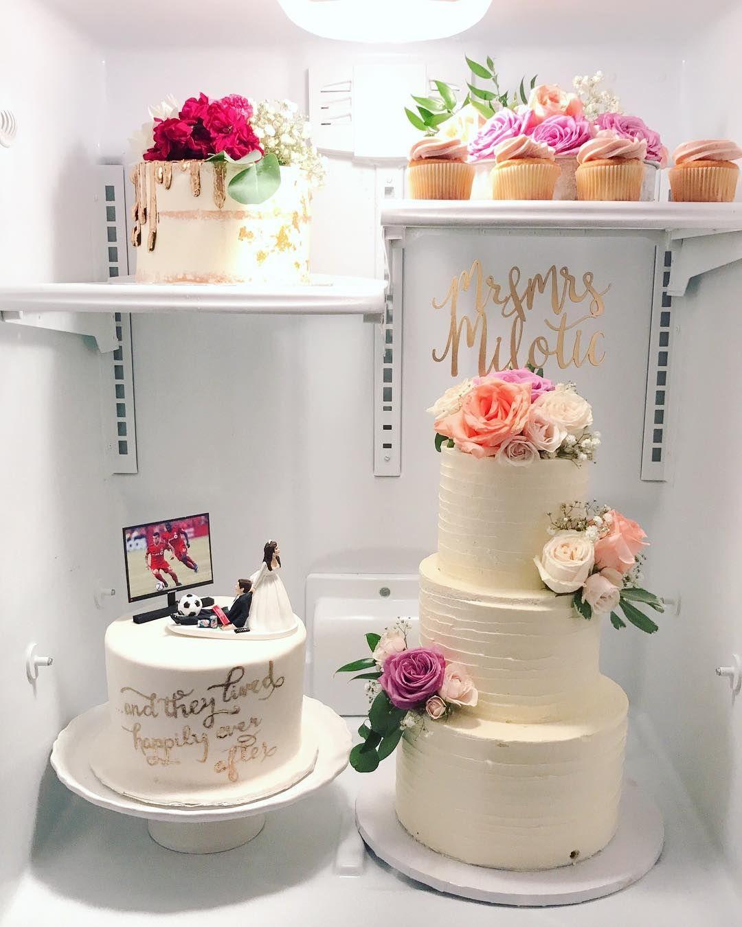 Wedding Cakes Inspired By China Patterns: Wedding Cake Fridge Situation