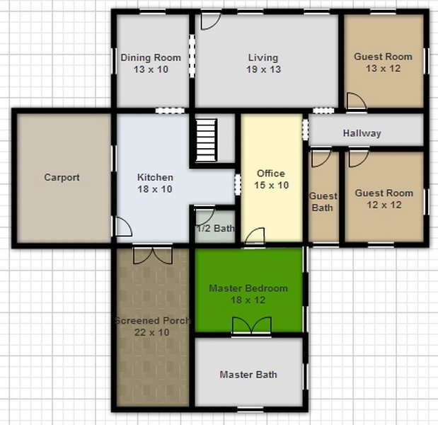 Architectural Floor Plans Floor Plan Online FreeDraw Floor Plan Online Free