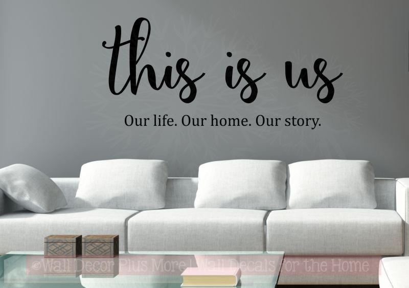 This Is Us Kitchen Wall Decals Vinyl Lettering Stickers For Home Decor Kitchen Wall Decals Kitchen Wall Decor Vinyl Wall Decals