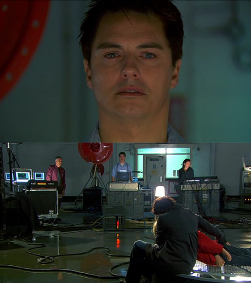 Torchwood: Children of Earth - Day 5  You bet I was crying at this part. probably one,if not THE,  most moving and gut wrenching scenes ever in the series