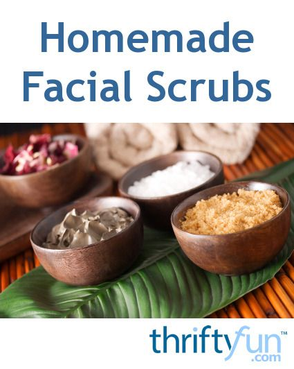 Homemade Facial Scrubs