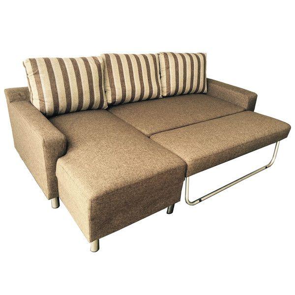 Sectional Sofa Kachy Fabric Convertible Sectional Sofa Bed