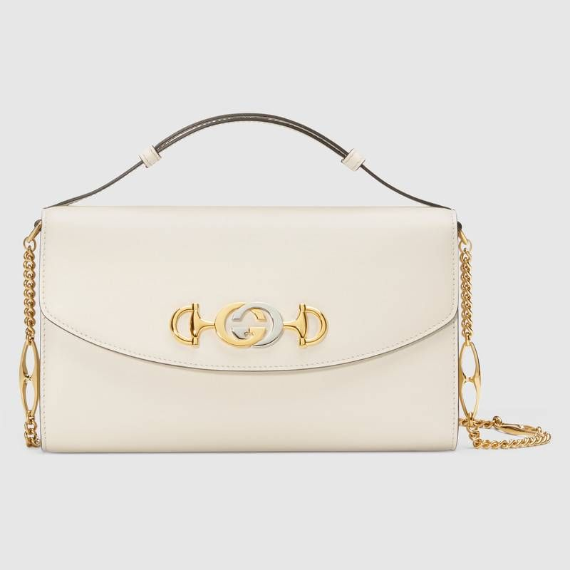 fb398a1fbfbb Shop the Gucci Zumi smooth leather small shoulder bag by Gucci. Introduced  in the evocative