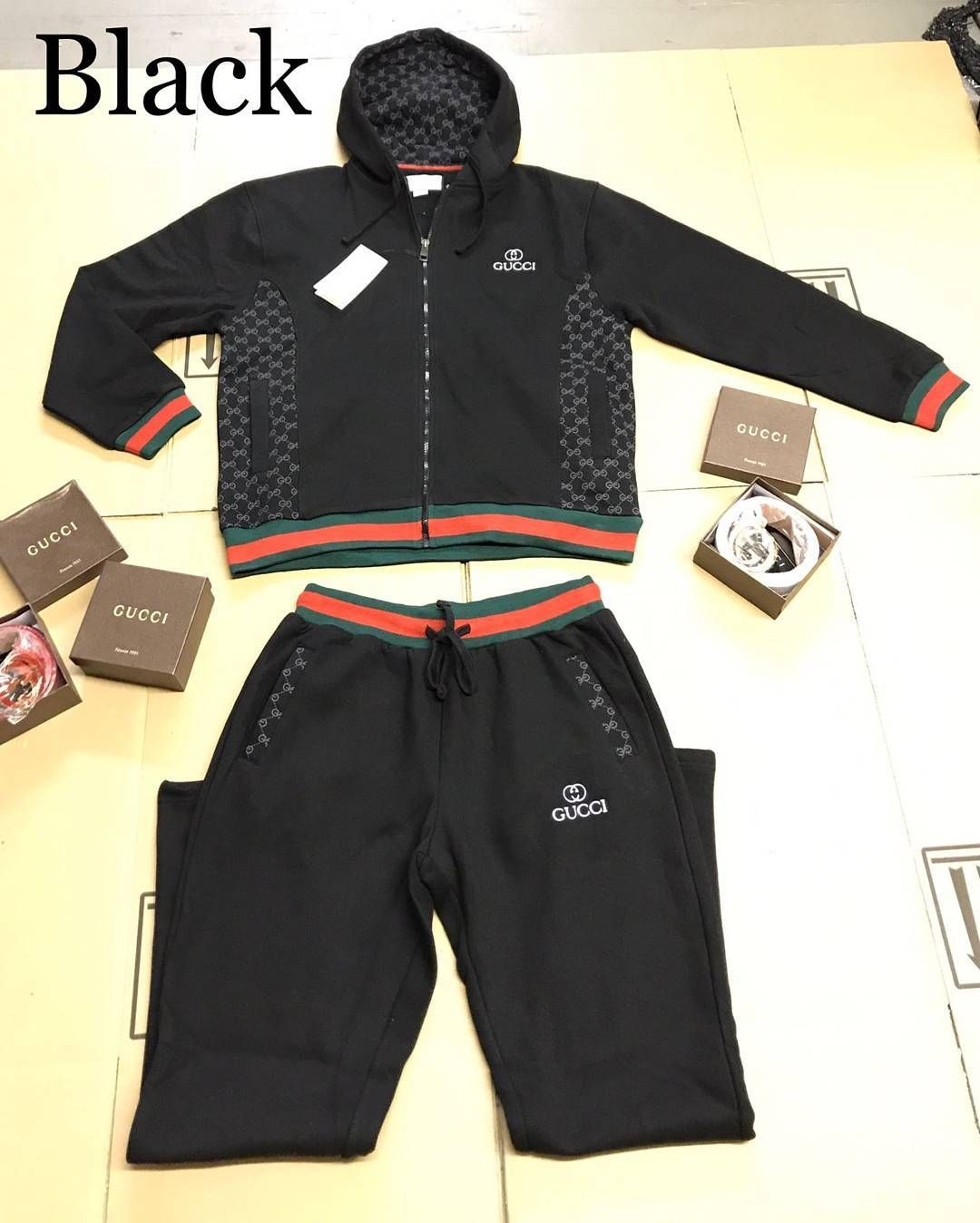 6ea9cd156 MEN S GUCCI JOGGING SUIT  125 SIZES MED-3XL