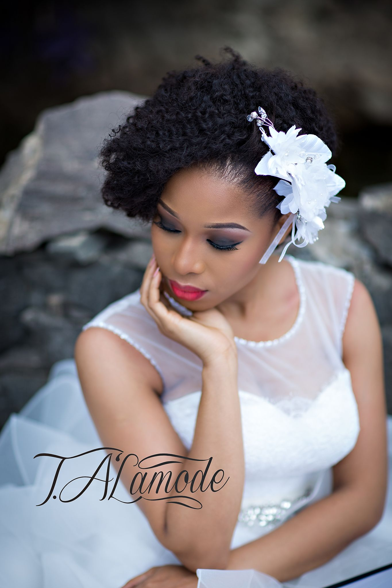 nigerian bridal natural hair and makeup shoot black. Black Bedroom Furniture Sets. Home Design Ideas
