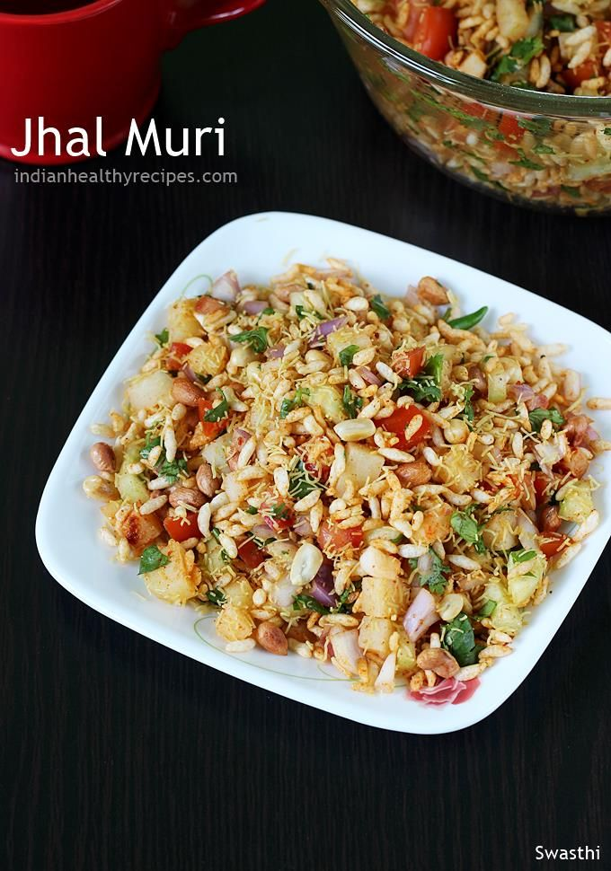 Jhal muri recipe | How to make Jhal muri