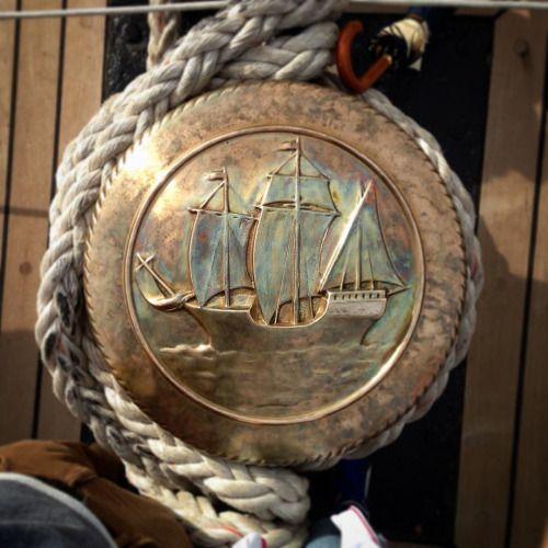 A bordo dell'amerigo #vespucci #strettodimessina #messina...