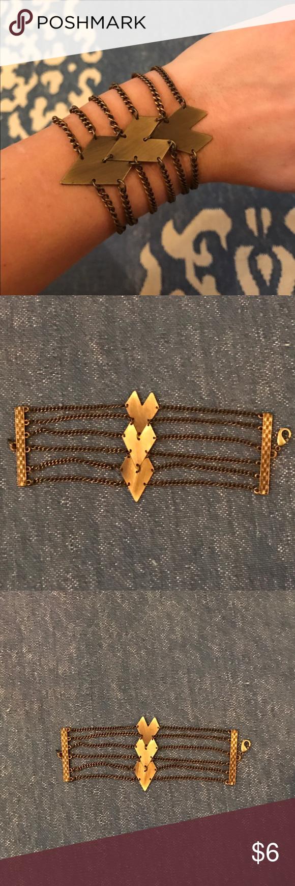 Gold Bracelet Gold bracelet. Don't remember where I bought it. Jewelry Bracelets