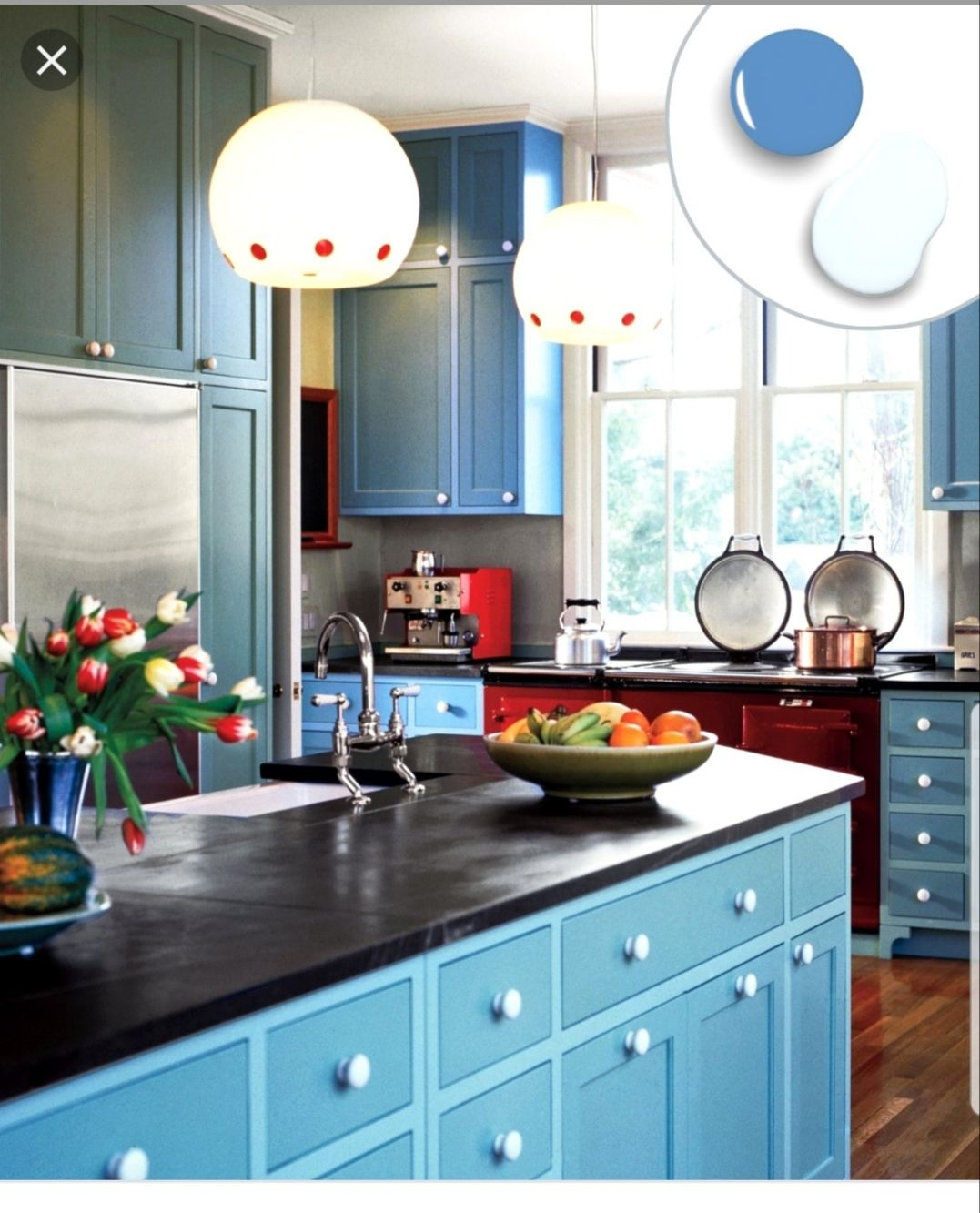 Kitchen cabinets two tone Teal Turquoise | Kitchen ...