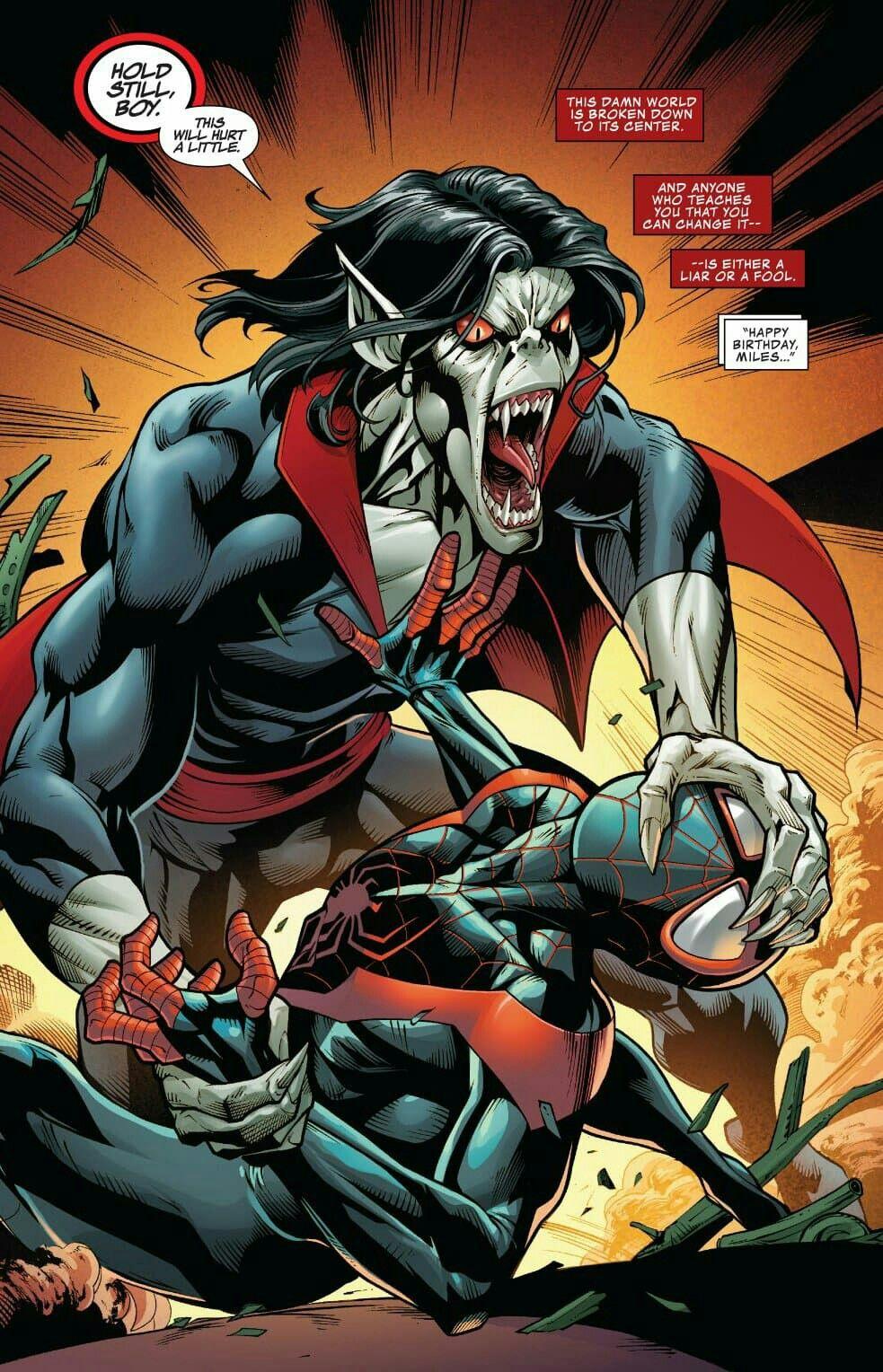 Pin By Santiago Castrillo On 1 Marvel Morbius The Living Vampire Marvel Comics Art Superhero