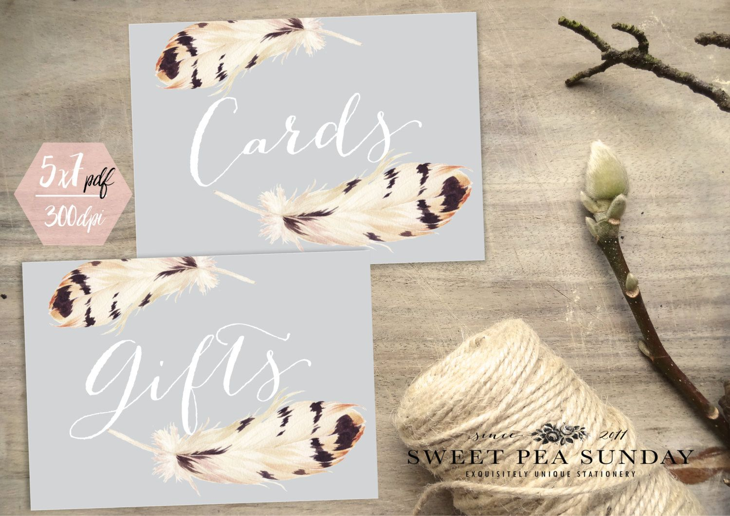 Watercolour Feather Cards Sign Gifts Diy Wedding Ceremony Guest Book Box Classic: Gift Card Box Ideas Wedding Signs At Reisefeber.org