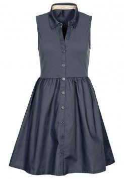 e1f616def9d Vero Moda - SONYA - Robe chemise - ombre blue