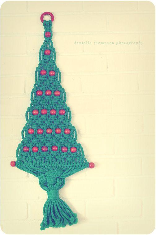 Macrame Christmas Tree Macrame Macrame Macrame Owl Christmas