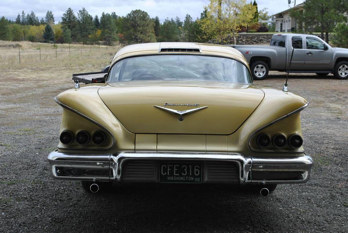 1958 Chevrolet Impala 2 door hardtop