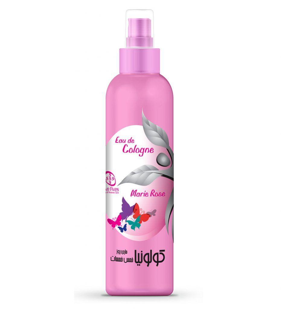 كولونيا مارى 5 Fives Eau De Cologne Hand Soap Bottle Shampoo Bottle