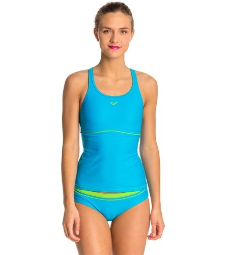 Arena Sporty Tankini Top Swimsuit Set At Swimoutlet Com Free