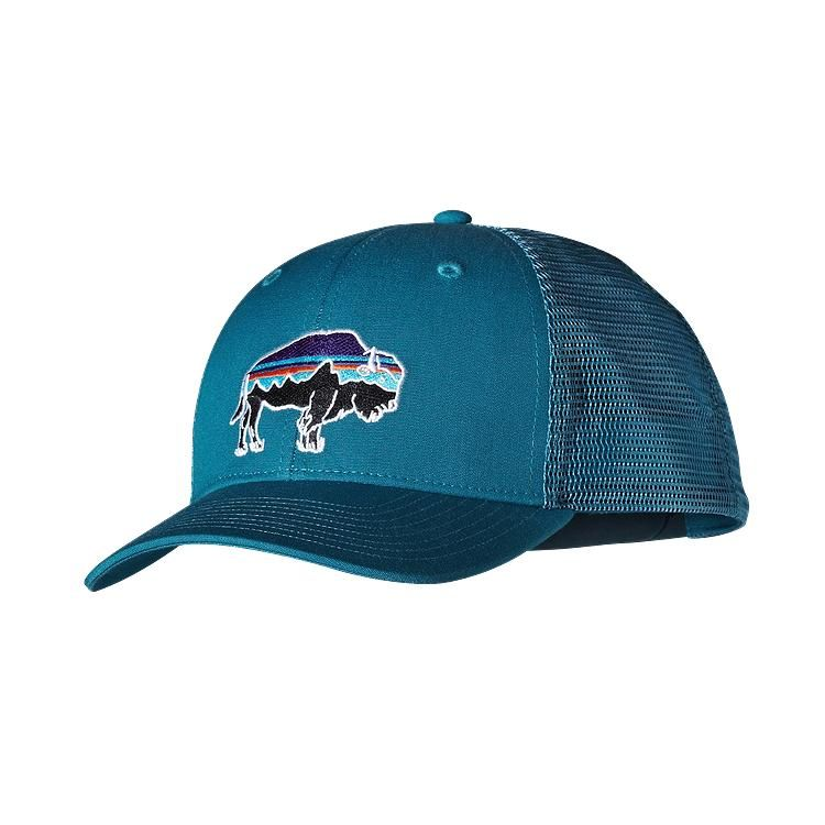 825a077e Fitz Roy Bison Trucker Hat | Patrick | Patagonia hat, Hats, Patagonia
