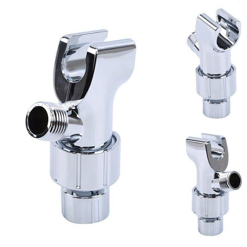 Adjustable Shower Head Holder Shower Room Wall Mount Socket Shower